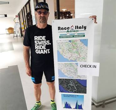 Race across Italy