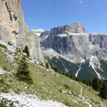 Auf langer Wanderung, Berg- oder Klettertour