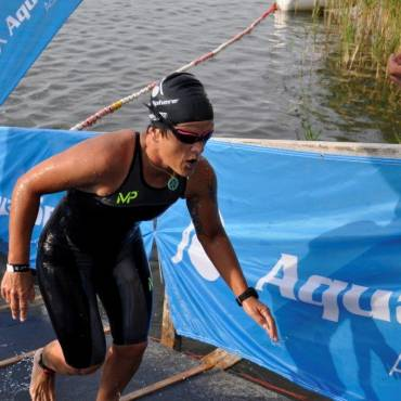 Claudia Müller Ultraschwimmerin